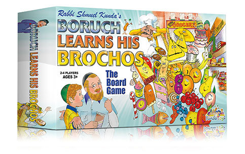 Boruch learns his brochos the board game