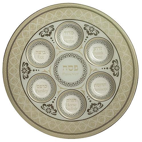 Glass Seder plate UK44227