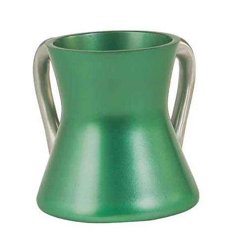 Small Netilat Yadayim Cup- green