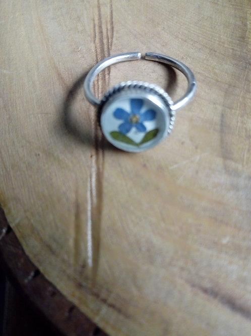 anello regolabile argento antico,silver plate senza nichel