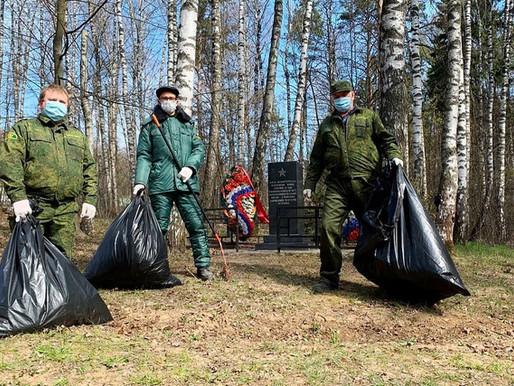Интерактивную карту военных мемориалов на землях лесного фонда создали в Подмосковье