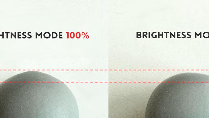 EXP mode (Brightness Mode) for XY50um