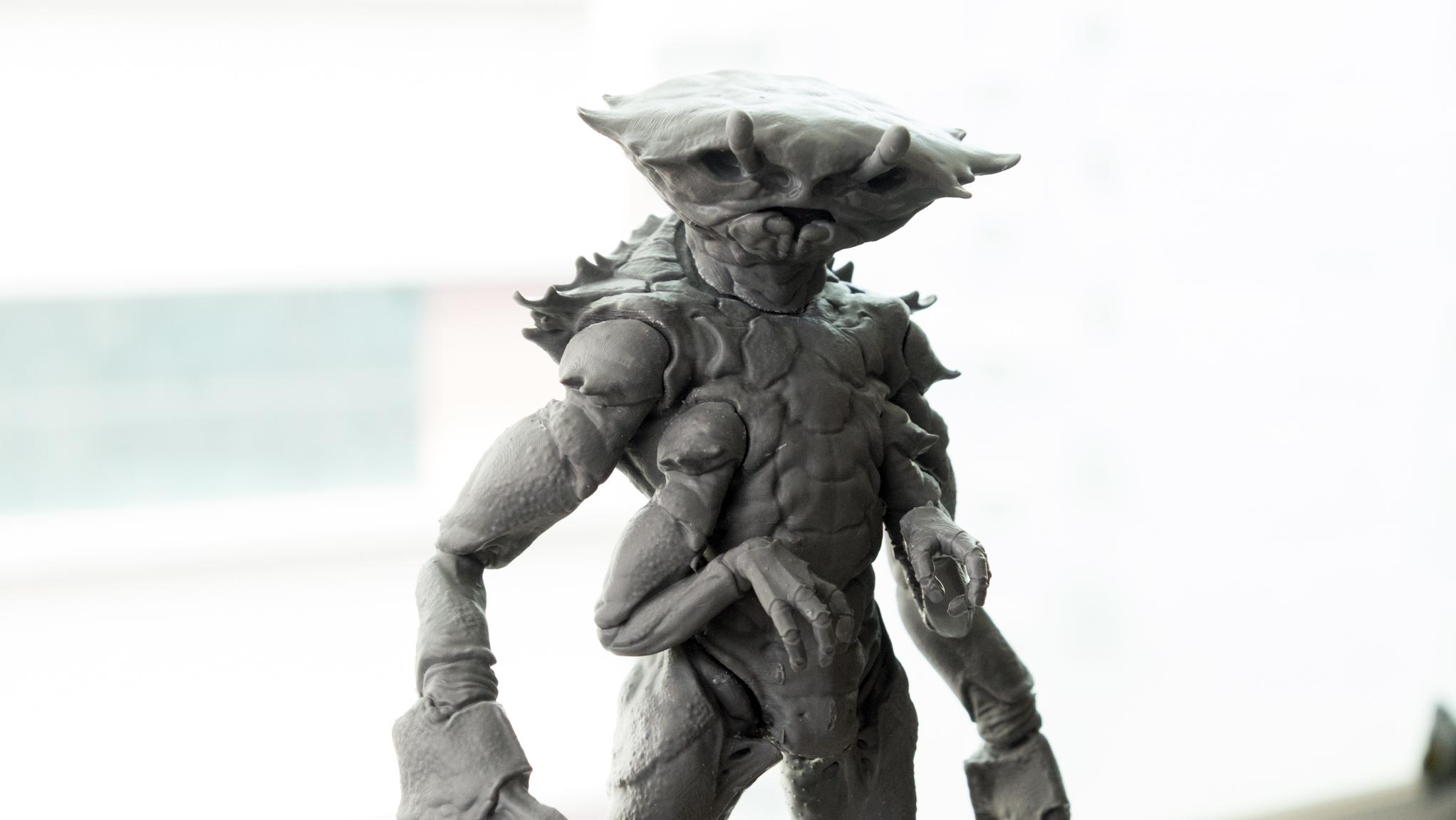 Model by Paul Braddock