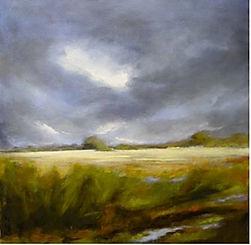 peintre exposition bizy paysage huile