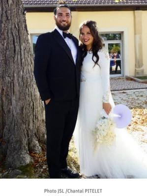 Félicitations à Alexiane et Hamed