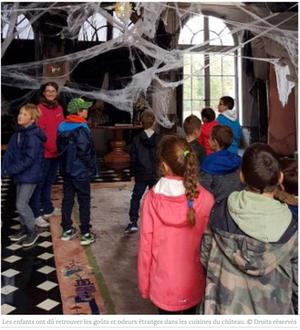 Effluves d'Halloween au château de Sully