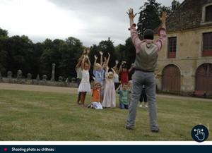 JSL - Séance photos pour les enfants au château de Sully