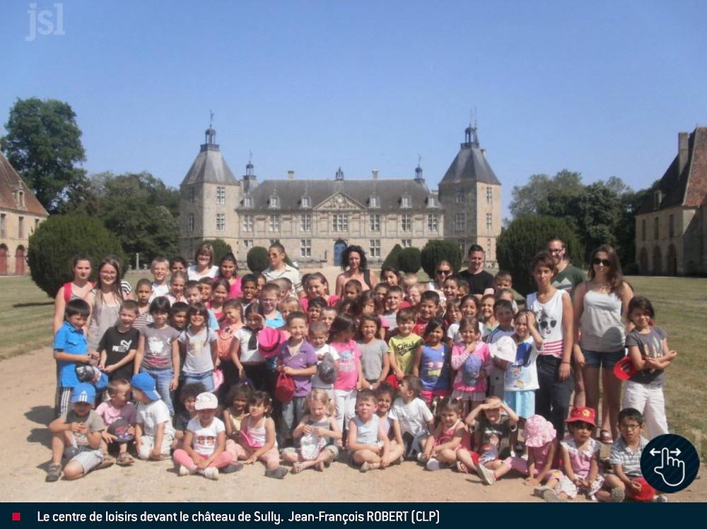 Enfants Chateau de Sully Centre de loisirs