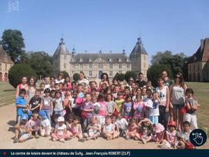 JSL - Les enfants visitent le château de Sully
