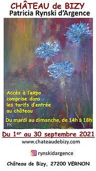 Exposition Patricia Rynski d'Argence