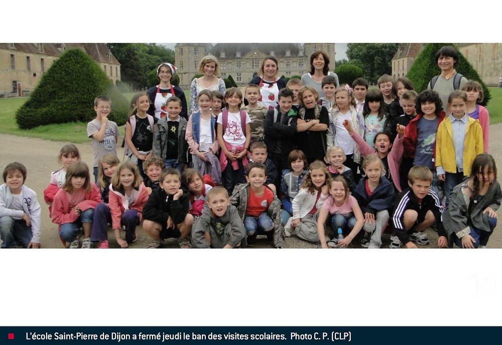 Ecoles Visites enfants Chateau de Sully Bourgogne