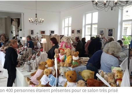 Le succès fou du 18e salon européen de l'ours et de la poupée de collection, au château de Bizy, à V
