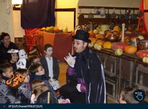 Les enfants ont fêté Halloween au château