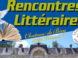Rencontres littéraires au Château de Bizy
