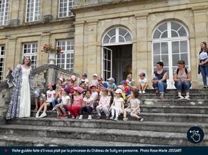 Une journée au Château de Sully pour l'école maternelle