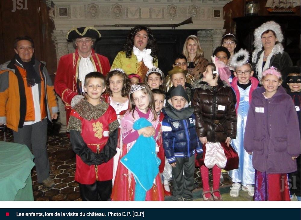 Visites Enfants Malades Chateau de Sully  Bourgogne