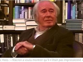 Ancien patron de Radio France et spécialiste des États-Unis, Jean-Luc Hees sera à Vernon dimanche