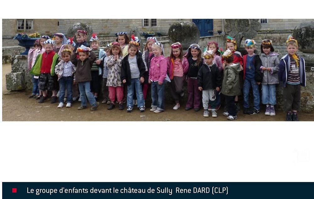 Ecole Chateau de Sully en Bourgogne Dame Pétronille