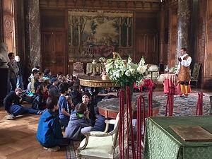 visite theatralisees enfants chateau