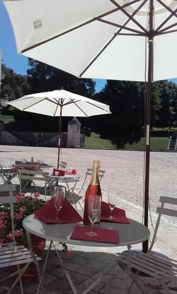salon de the chateau de bizy