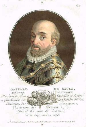 Gaspard de Saulx, chef de guerre et chef de famille bourguignon