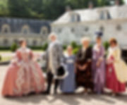 Chateau de Bizy visite enfant groupes salon de thé boutique