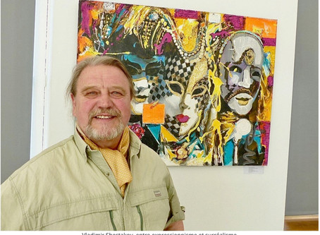 Vladimir Shestakov expose au château de Bizy à Vernon