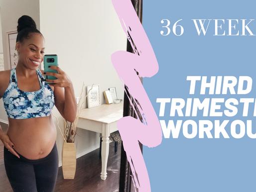 Third Trimester Prenatal Workout