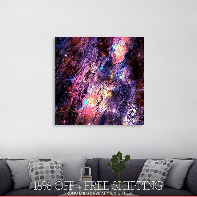 Discover «Arcane Brilliance», Limited Edition Canvas Print by Art By Gabriele via _Curioos