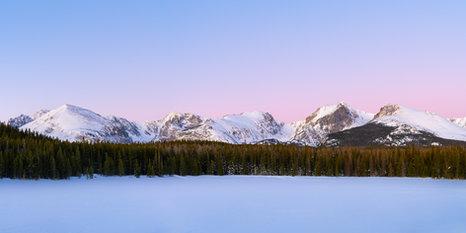 Bierstadt Lake Sunrise Panorama