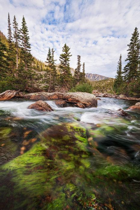 Mills Lake Trail Creek