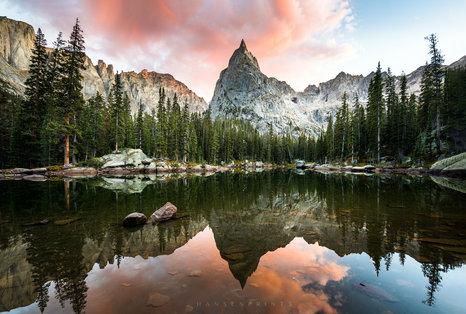 Lone Eagle Peak Sunset