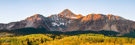 Wilson Peak Sunrise Panorama