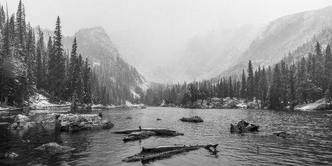 Dream Lake Snowstorm