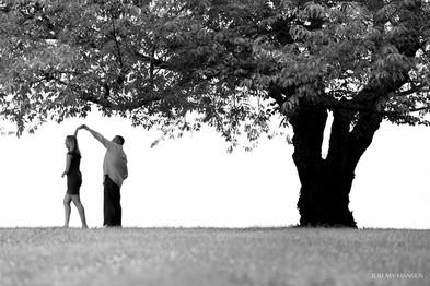 Tree Dance Engagement Shoot