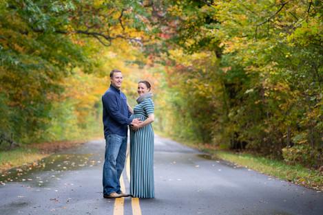 Fall Couples Maternity Shoot
