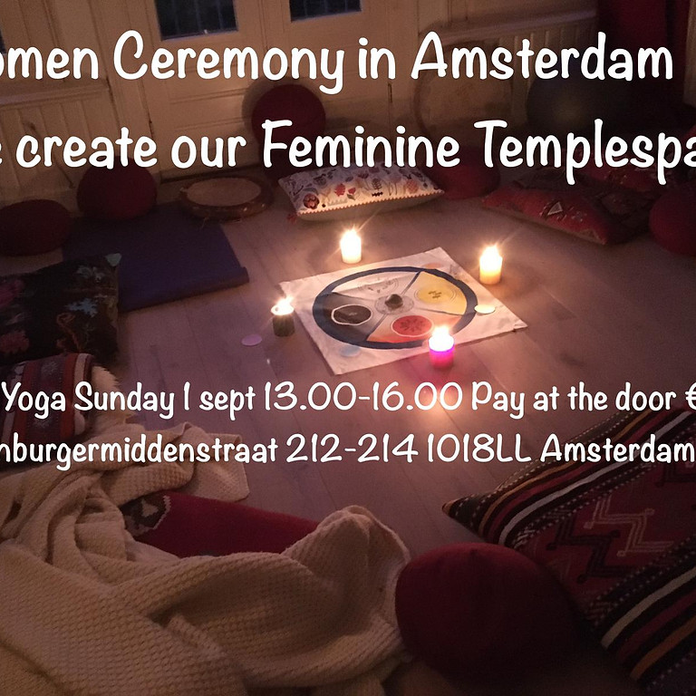 Woman Ceremony in Amsterdam
