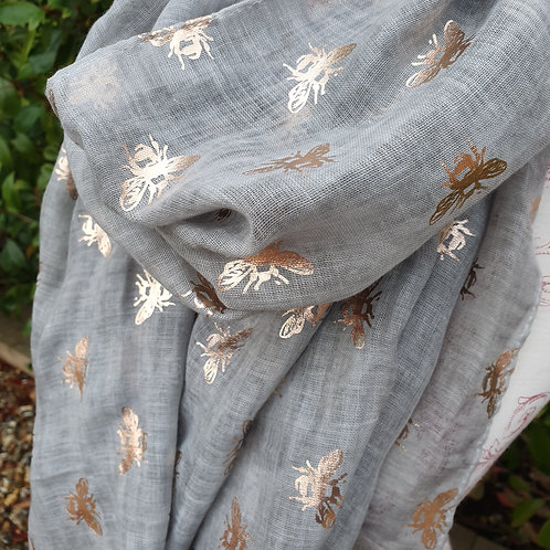Dragonfly or Bee Scarf