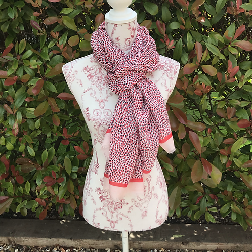 Spotted Viscose Scarf