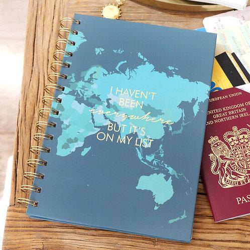 Been Everywhere Notebook