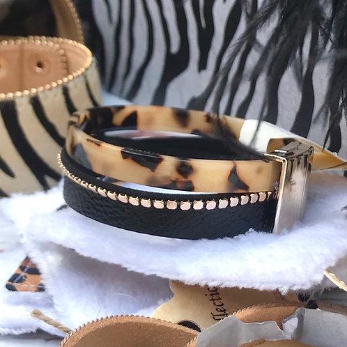Tortoise Shell Magnetic Bracelet