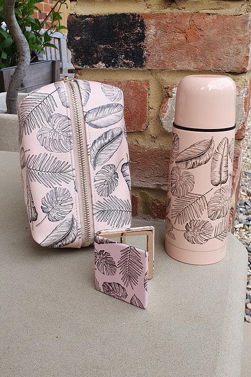 Leaf Print Thermal Flask