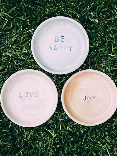 Handmade Trinket Plates