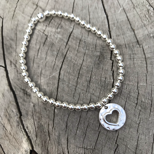 Heart Cutout Bracelet