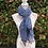 Thumbnail: Daisy Floral Scarf with Tassels