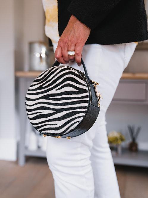 Circular Zebra Bag