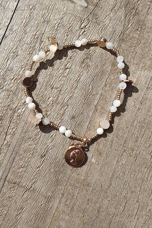 Seashell Bracelets - Rose