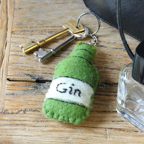 Gin Keyring