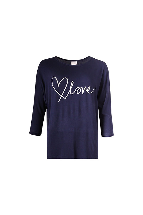 Love Batwing Sleeve T-Shirt