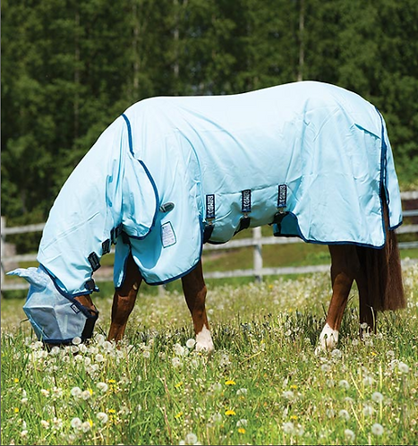 Rambo® Pony Hoody Vamoose® with No-Fly Zone (No fill)
